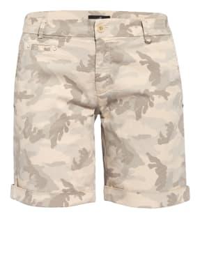 MASON'S Shorts mit Nietenbesatz