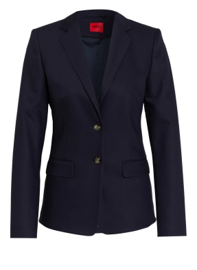 HUGO Piqué-Blazer THE LONG JACKET-2