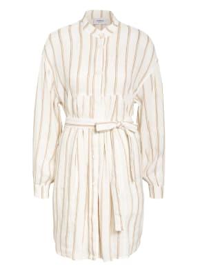 Dondup Kleid mit Leinen