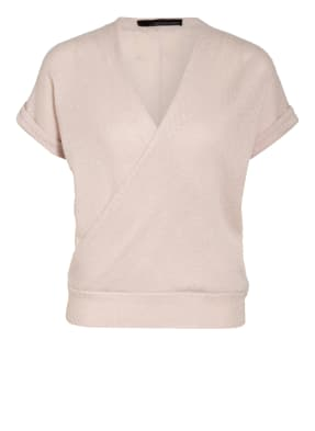 360CASHMERE Strickshirt aus Cashmere in Wickeloptik