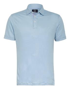 HACKETT LONDON Poloshirt aus Leinen Classic Fit