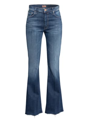 MOTHER Flared Jeans THE WEEKENDER FRAY