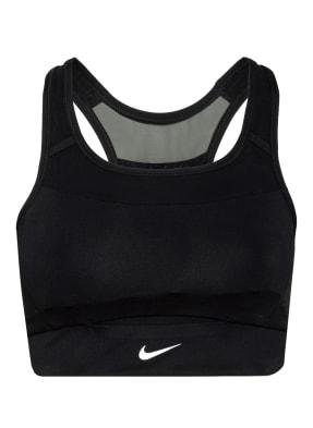 Nike Sport-BH SWOOSH POCKET mit Mesh-Einsatz