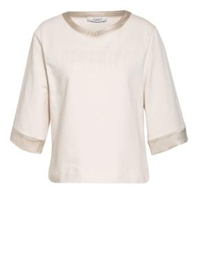 PESERICO Shirt mit 3/4-Arm und Swarovski Kristallen
