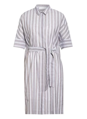 FABIANA FILIPPI Hemdblusenkleid mit Leinen