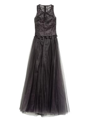 VM VERA MONT Abendkleid mit Spitzen- und Paillettenbesatz