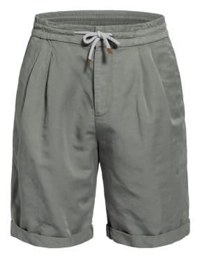 BRUNELLO CUCINELLI Shorts mit Leinen
