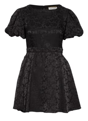 SAINT LAURENT Jacquard-Kleid aus Seide