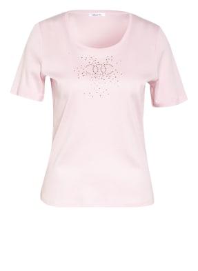 efixelle T-Shirt mit Schmucksteinbesatz