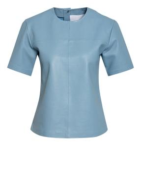REMAIN BIRGER CHRISTENSEN Blusenshirt AUDREY aus Leder