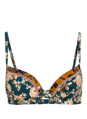 watercult Bügel-Bikini-Top OTTOMANE FLOWER mit Glitzergarn