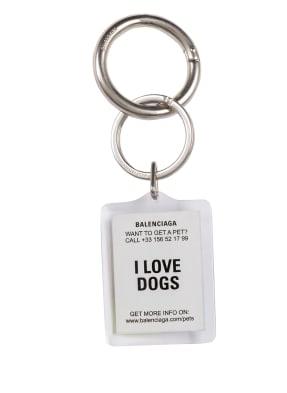 BALENCIAGA Schlüsselanhänger PETS DOG