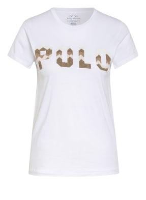 POLO RALPH LAUREN T-Shirt mit Perlenbesatz