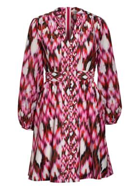 Mrs & HUGS Kleid mit Seide