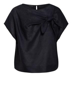 EMPORIO ARMANI Blusenshirt aus Leinen
