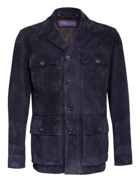 RALPH LAUREN PURPLE LABEL Fieldjacket aus Leder