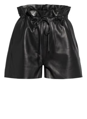 DANTE6 Paperbag-Shorts aus Leder