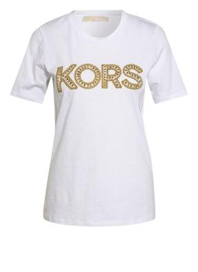 MICHAEL KORS T-Shirt mit Nietenbesatz