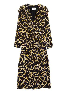 ba&sh Kleid CANDICE mit Rüschenbesatz