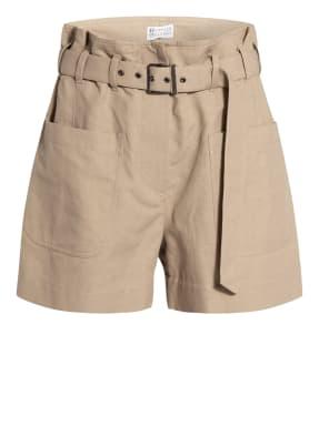 BRUNELLO CUCINELLI Paperbag-Shorts
