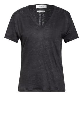 ba&sh T-Shirt JOUVE aus Leinen