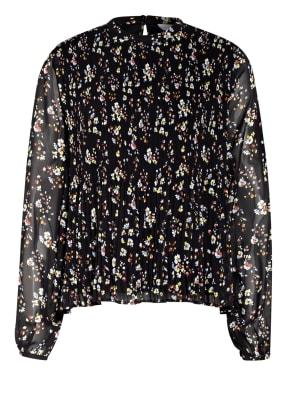 VILA Blusenshirt mit Plissees