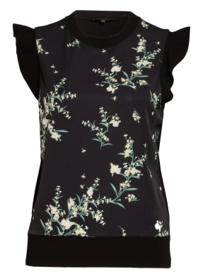 TED BAKER Top ZAPHIRA im Materialmix