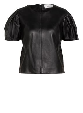 ba&sh T-Shirt LITA aus Leder