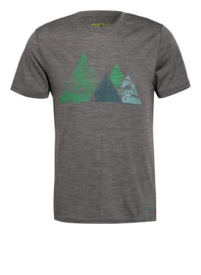 me°ru' T-Shirt TUMBA mit Merinowolle