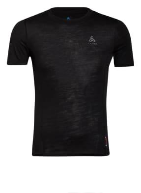 odlo T-Shirt NATURAL + LIGHT mit Merinowolle