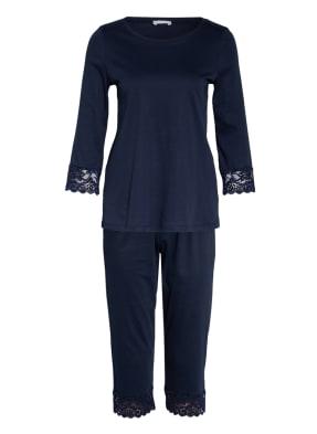 HANRO Schlafanzug MOMENTS mit 3/4-Arm