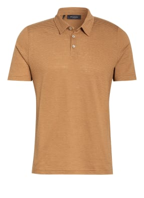MAERZ MUENCHEN Jersey-Poloshirt mit Leinen