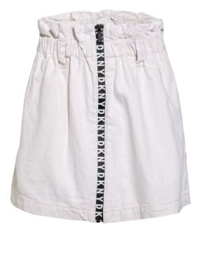 DKNY Paperbag-Rock aus Jeans