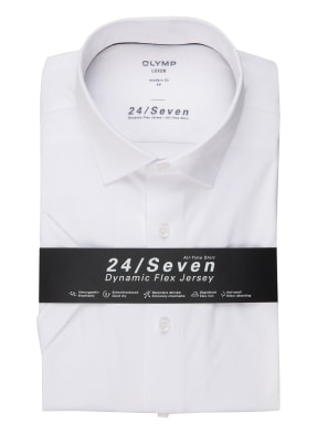 OLYMP Kurzarm-Hemd Luxor 24/7 modern fit