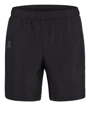SALOMON 2-in-1-Shorts AGILE mit Mesh-Einsätzen