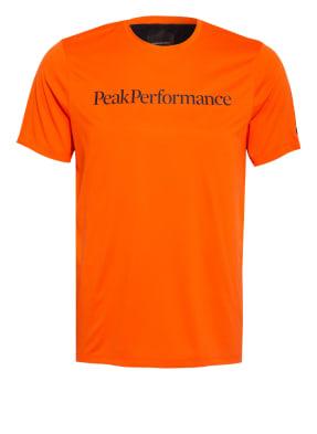 Peak Performance T-Shirt ALUM LIGHT mit Mesh-Einsatz