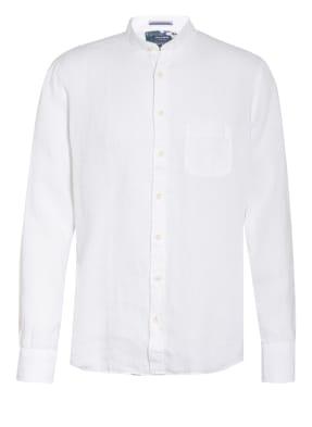 OLYMP Leinenhemd Modern Fit mit Stehkragen