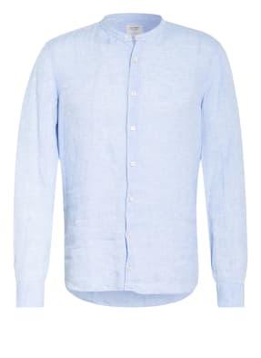 OLYMP Leinenhemd Level Five Casual body fit mit Stehkragen