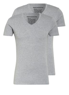 DRYKORN 2er-Pack V-Shirts CARIS