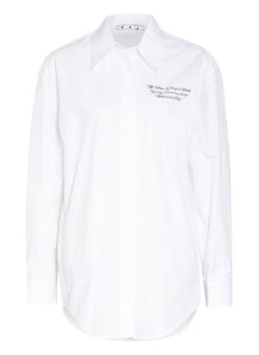 Off-White Oversized-Hemdbluse