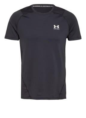 UNDER ARMOUR T-Shirt UA HEATGEAR mit Mesh-Einsätzen