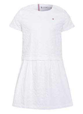 TOMMY HILFIGER Kleid mit Lochspitze