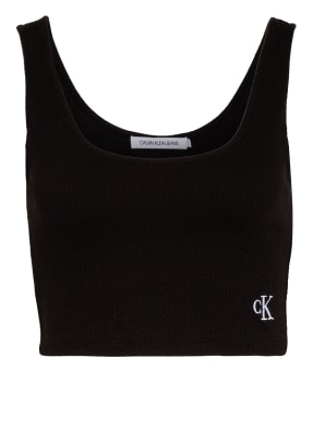 Calvin Klein Jeans Cropped-Top