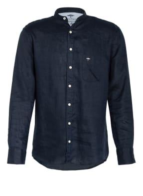 FYNCH-HATTON Leinenhemd mit Stehkragen Comfort Fit