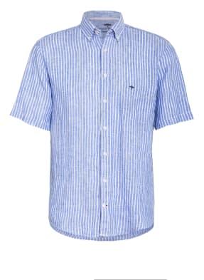 FYNCH-HATTON Kurzarm-Hemd Comfort Fit aus Leinen