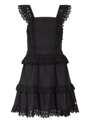 SCOTCH R'BELLE Kleid mit Lochspitzenbesatz