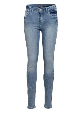 GUESS Jeans Skinny Fit mit Schmucksteinbesatz