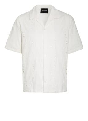DAILY PAPER Resorthemd Comfort Fit aus Lochspitze