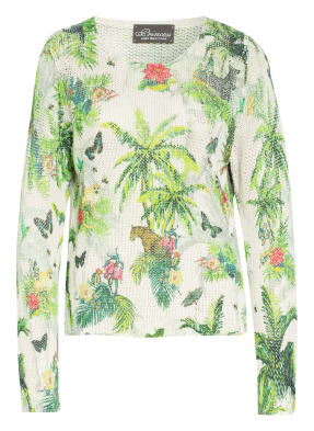 Princess GOES HOLLYWOOD Pullover mit Leinen