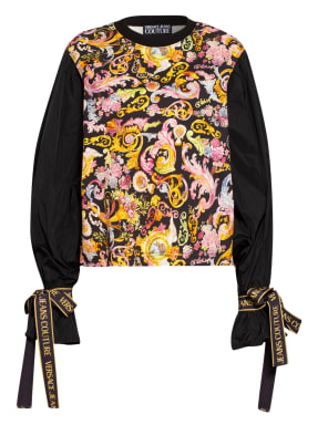 VERSACE JEANS COUTURE Sweatshirt im Materialmix